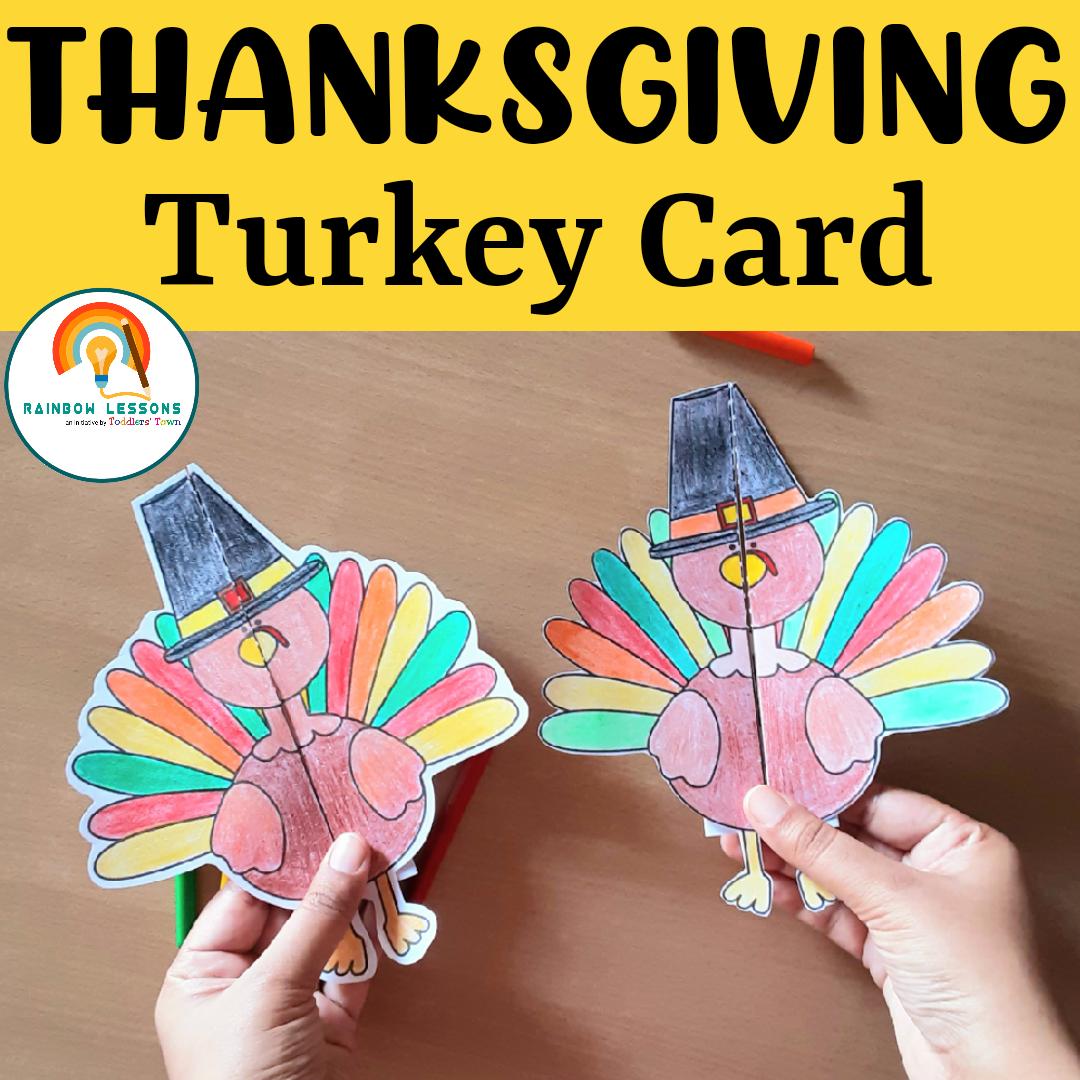 Thanksgiving Activities | Thanksgiving Craft