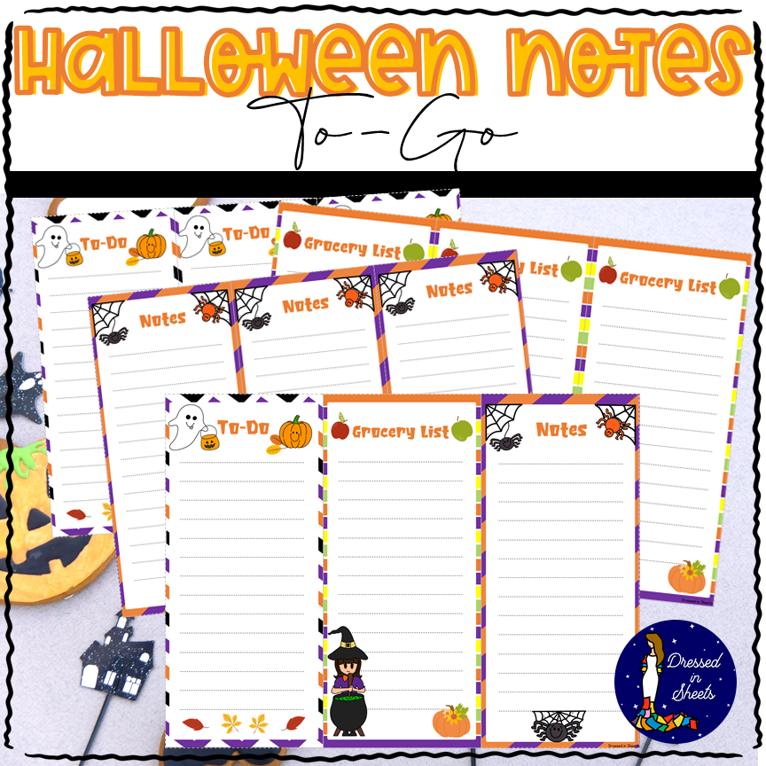 Halloween Notes To-Go