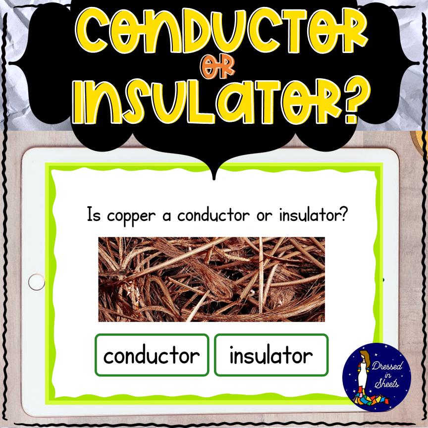 Conductor or Insulator? BOOM Cards