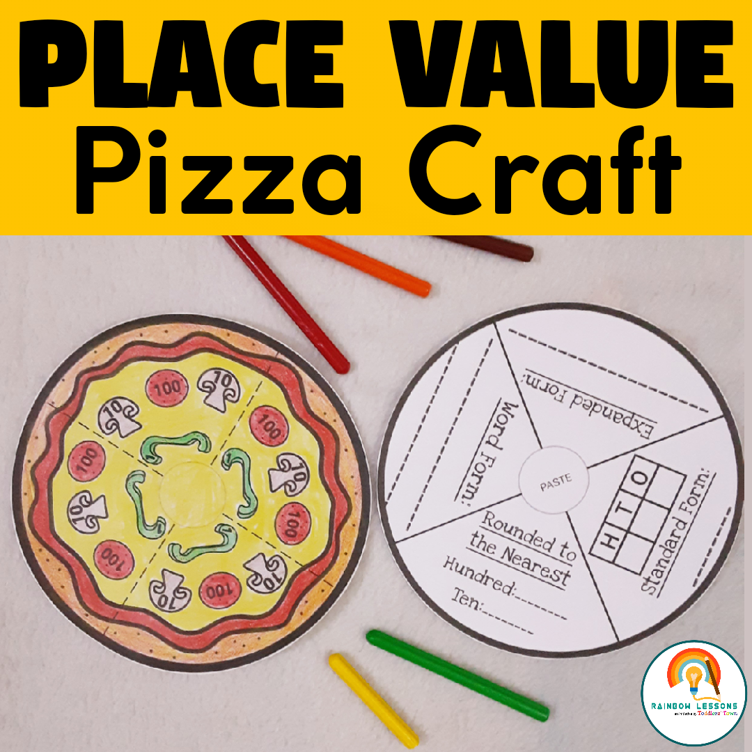 Place Value Craft | Place Value Worksheets