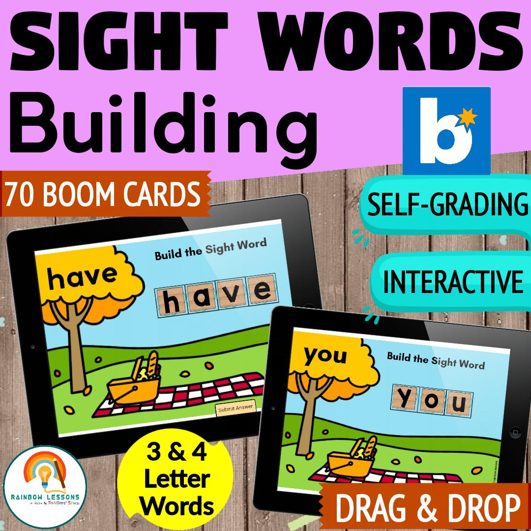 Sight Words Practice | Frys Sight Words Bundle