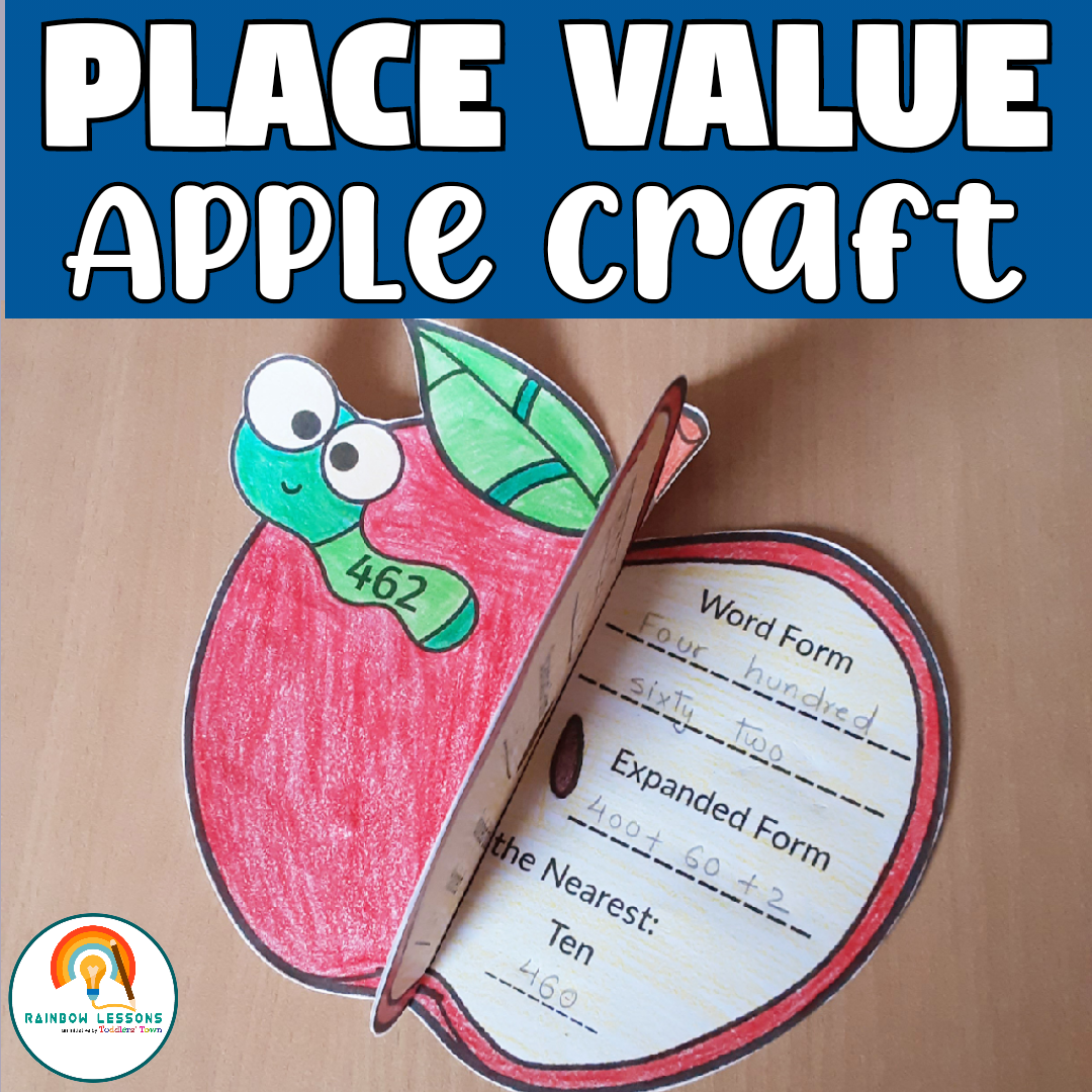 Fall Place Value Craft | Place Value Craftivity