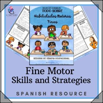 SPANISH VERSION Fine Motor Skills Strategies