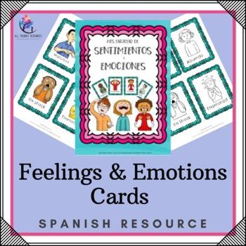 SPANISH VERSION Feelings & Emotions Cards