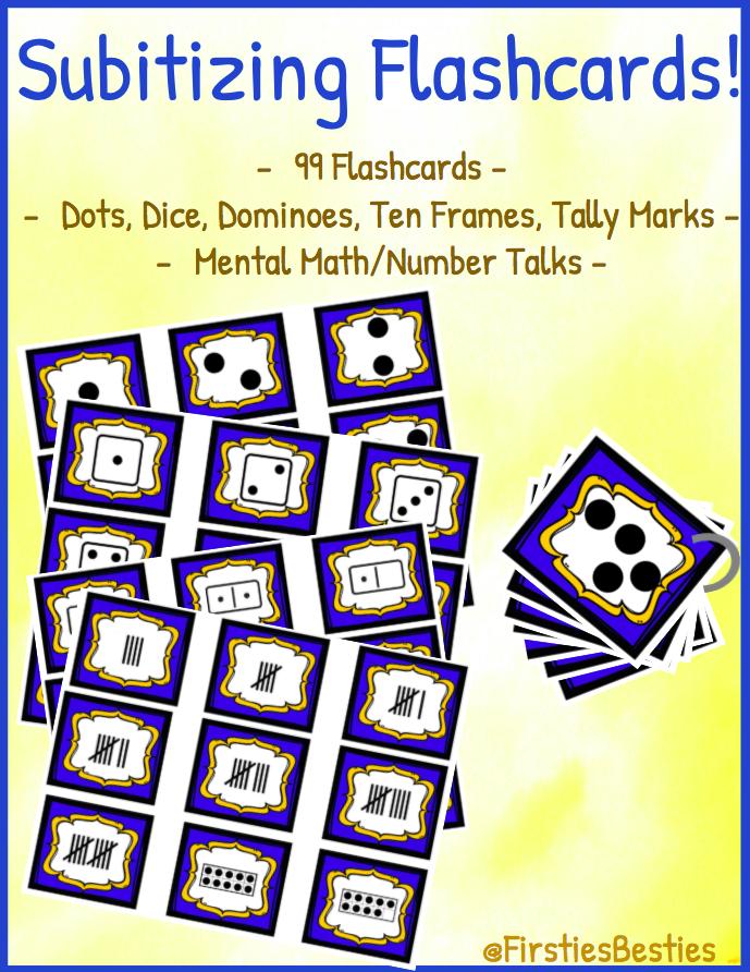 Subitizing Cards! Mental Math Number Talks