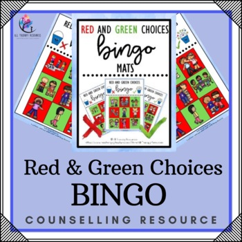 Red and Green Positive Behavior Choices BINGO