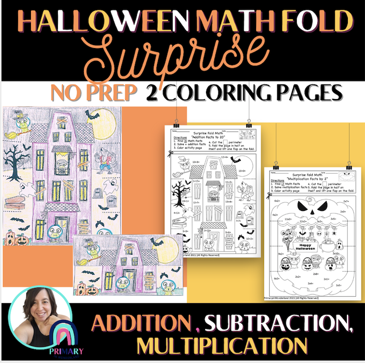Printable Coloring Math Page