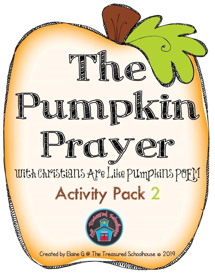 The Pumpkin Prayer Activity Pack 2