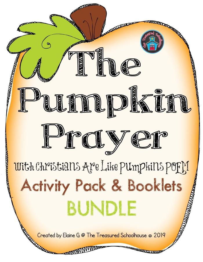 The Pumpkin Prayer Activity Pack and Booklets BUND